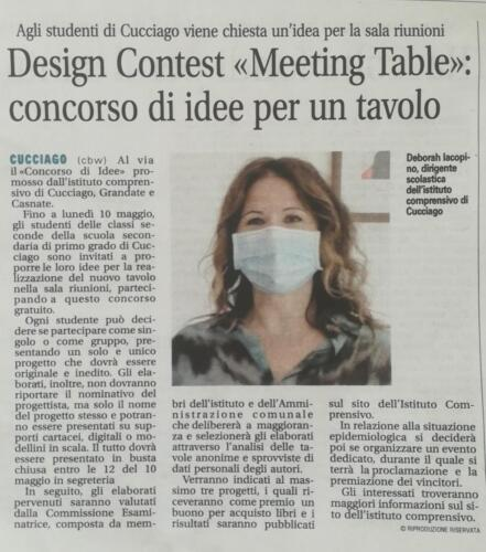 "Design contest ""Meeting Table"""